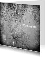 Condoleancekaarten - Condoleancekaart Sterkte