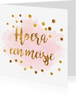 Felicitatiekaarten - confetti felicitatiekaart