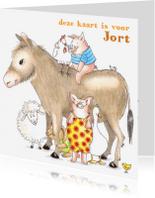 Dierenkaarten - de kinderboerderij