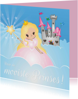 Verjaardagskaarten - De Mooiste Prinses!