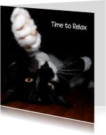 Dierenkaarten - dierenkaart  time to relax