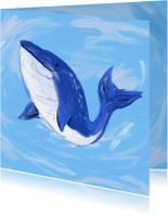 Dierenkaarten - Dierenkaart walvis