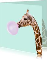 Dierenkaarten 'Giraffe'