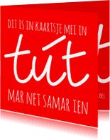 Fryske kaartsjes - Dikke tút - AW