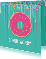Coachingskaarten - Donut worry - DH