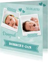 Doopkaarten - Doopkaart mint LB04