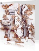 Felicitatiekaarten - draaikaart muzikaal