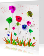 Een boeketje bloemen