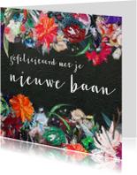 Felicitatiekaarten - Eigen tekst bloemen kleurrijk