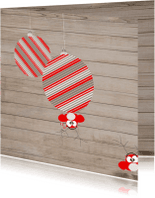 Kerstkaarten - familie-kerstkaart-uil-gezin