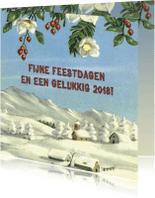 Kerstkaarten - Feestdagen Edelweiss 2018
