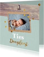 Doopkaarten - feestelijke doopkaart