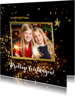 Kerstkaarten - Feestelijke foto kerstkaart - LO