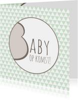 Felicitatiekaarten - Felicitatie Baby op komst - WW