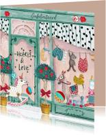 Felicitatiekaarten - Felicitatie Geboorte Baby winkel
