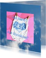 Felicitatiekaarten - Felicitatie  in de wolken - AW