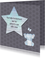 Felicitatiekaarten - Felicitatie jongen olifantje