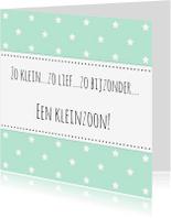 Felicitatiekaarten - Felicitatie Kleinzoon - WW
