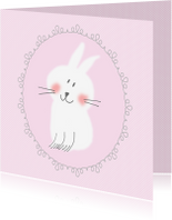 Felicitatiekaarten - Felicitatie - konijntje