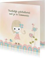 Felicitatie meisje 1e communie