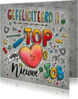 Felicitatiekaarten - Felicitatie Top Job