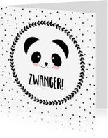 Felicitatiekaarten - Felicitatie Zwanger Panda - WW