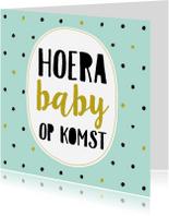 Felicitatiekaarten - Felicitatiekaart baby op komst