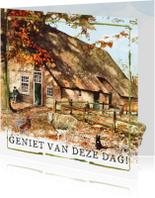 Felicitatiekaarten - Felicitatiekaart Boerderij Geniet van deze dag