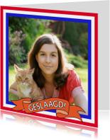 Geslaagd kaarten - Felicitatiekaart geslaagd met eigen foto