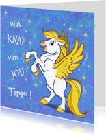 Geslaagd kaarten - Felicitatiekaart paard Florian - A