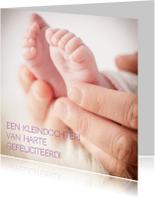 Felicitatiekaarten - Felicitatiekaart - voetjes - MM