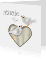 Felicitatiekaarten - Felicitatiekaart Wat een mooie dag om te trouwen