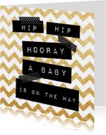 Felicitatiekaarten - Felicitatiekaart zwangerschap