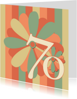 Verjaardagskaarten - flower70