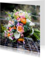 Verjaardagskaarten - flowerbomb birthday
