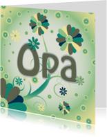 Verjaardagskaarten - flowerpower-opa