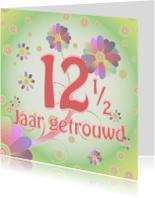 Jubileumkaarten - flowerpower-trouwen12-5