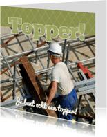 Jubileumkaarten - Foto 4kant Topper! - BK