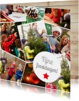 Kerstkaarten - Fotocollage Kerst Kerstkaart