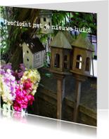 Felicitatiekaarten - Fotokaart nieuwe woning
