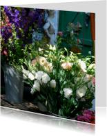 Bloemenkaarten - Fotokaart prachtige bloemen01