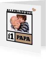 Fotolijst vader en kind-isf