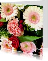 Bloemenkaarten - fraaie bos bloemen