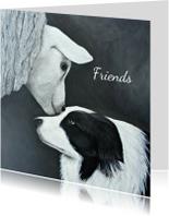 Vriendschap kaarten - Friendship forever