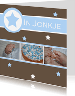 Fryske kaartsjes - Frysk bertekaartsje jonkje