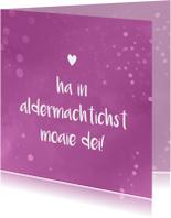 Fryske kaartsjes - Fryske fleurige sprankelende felicitatiekaart