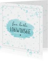 Fryske kaartsjes - Fryske lokwinske kaart - Fan herte lokwinske
