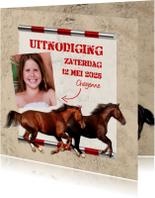 Kinderfeestjes - Galopperende paarden-isf