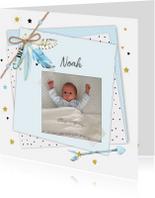 Geboortekaartjes - Geboorte papiertjes veren