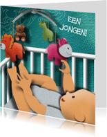 Felicitatiekaarten - Geboortekaart - It's a Boy